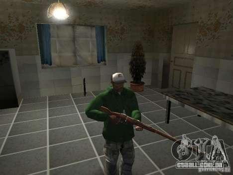 Pak domésticos armas V2 para GTA San Andreas décima primeira imagem de tela