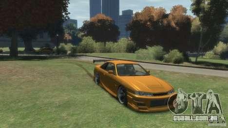 NISSAN 200SX para GTA 4 vista direita