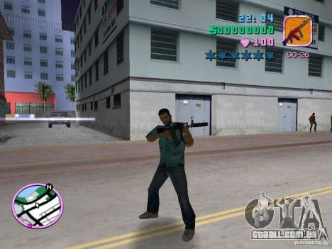 AK-103 para GTA Vice City por diante tela