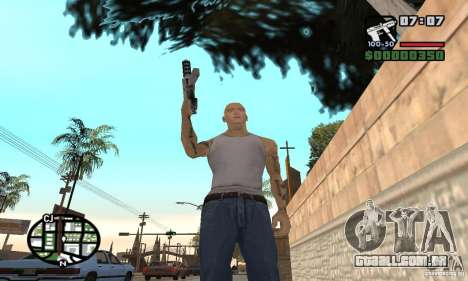 Eminem para GTA San Andreas quinto tela
