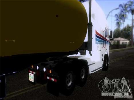 Freightliner Argosy Skin 3 para GTA San Andreas traseira esquerda vista