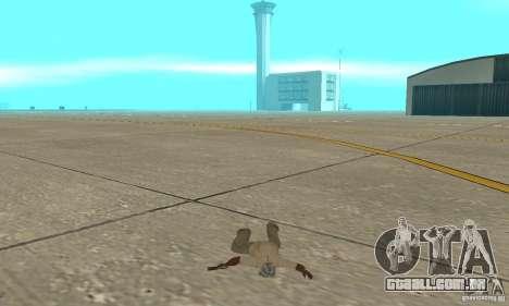 Actdead para GTA San Andreas por diante tela