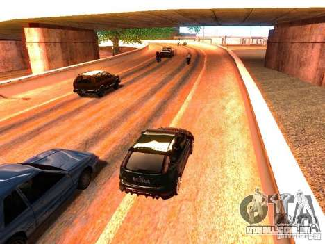 Drivers normal na pista para GTA San Andreas quinto tela