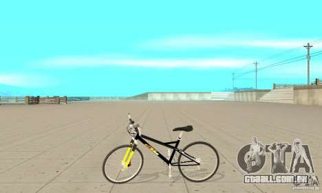 KTM Bike beta para GTA San Andreas esquerda vista