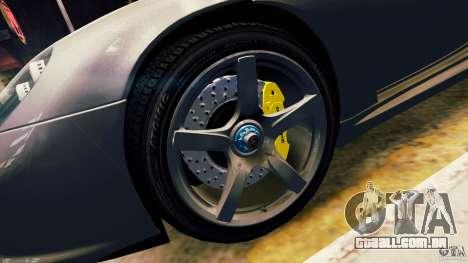 Porsche Carrera GT para GTA 4 vista lateral