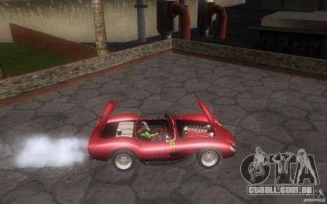Ferrari 250 Testa Rossa para GTA San Andreas vista traseira