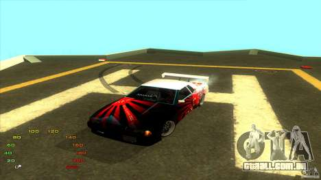Pack vinil para Elegy para GTA San Andreas quinto tela