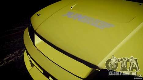 Nissan Skyline GTS R33 para GTA San Andreas vista interior