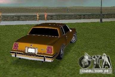 Pontiac Grand Prix para GTA Vice City vista direita