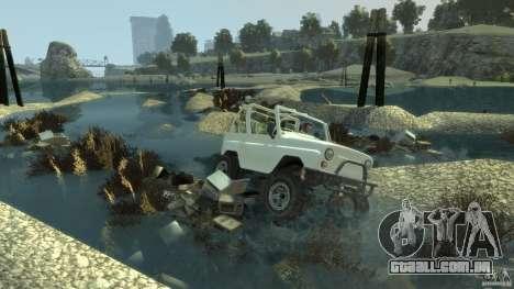 4x4 Trail The Reef para GTA 4 terceira tela
