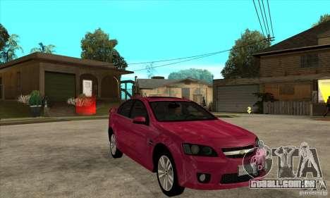 Chevrolet Lumina SS para GTA San Andreas vista traseira