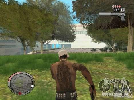 GTA IV HUD v4 by shama123 para GTA San Andreas por diante tela