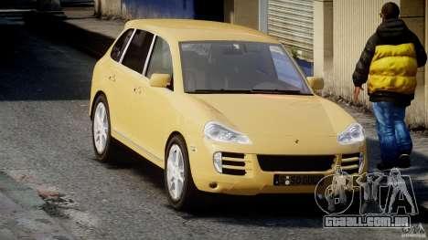 Porsche Cayenne S 2008 para GTA 4 vista de volta