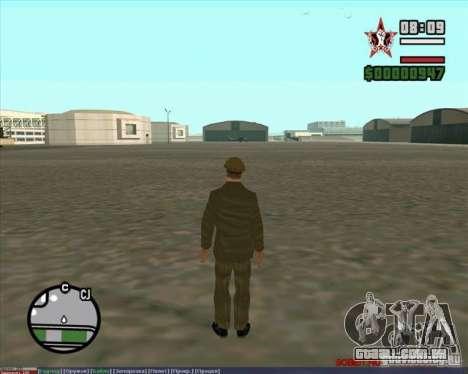 Stalin para GTA San Andreas quinto tela