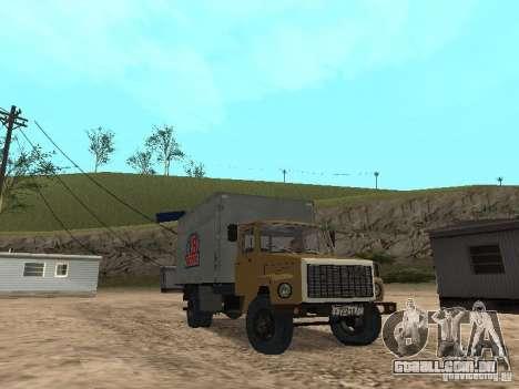 GAZ 3309 CR v2 para GTA San Andreas