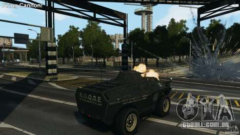 Tank Mod para GTA 4 segundo screenshot