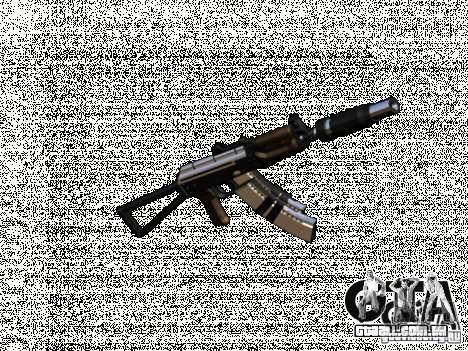 Weapon pack v2 para GTA San Andreas por diante tela