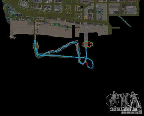 Night moto track V.2 para GTA San Andreas oitavo tela