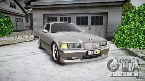 BMW E36 328i v2.0 para GTA 4 vista interior