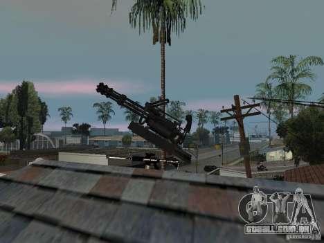 Weapon Pack para GTA San Andreas quinto tela