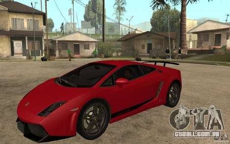 Lamborghini Gallardo LP 570 4 Superleggera para GTA San Andreas