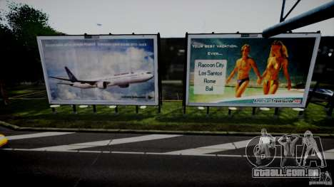 Realistic Airport Billboard para GTA 4 segundo screenshot