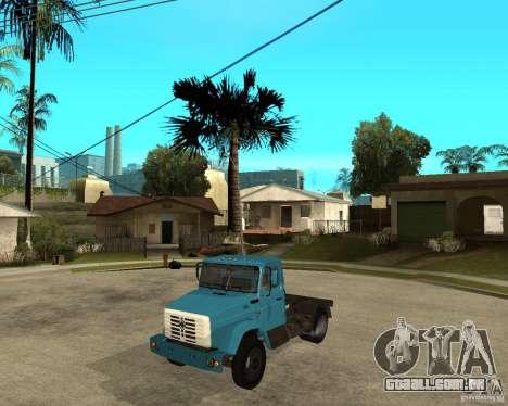 ZIL-433362 Extra Pack 2 para GTA San Andreas traseira esquerda vista