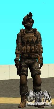 USA Army Special Forces para GTA San Andreas