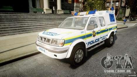 Nissan Frontier Essex Police Unit para GTA 4