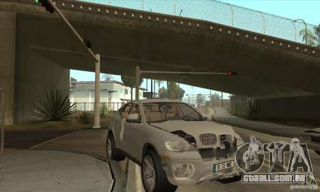 BMW X6 para GTA San Andreas vista interior