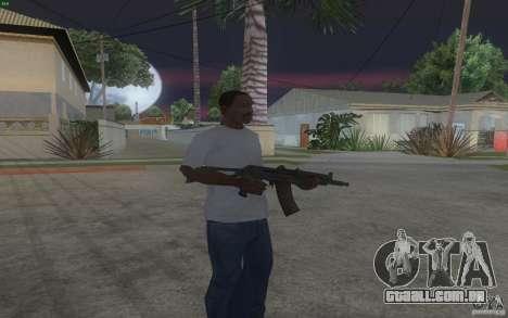AKS-74U para GTA San Andreas segunda tela