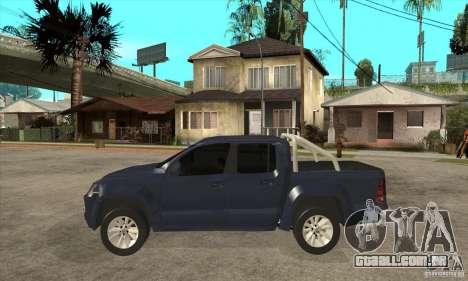 Volkswagen Amarok 2010 para GTA San Andreas esquerda vista