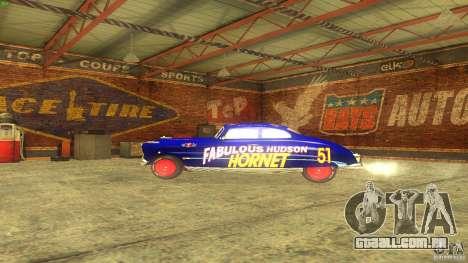 Hornet 51 para GTA San Andreas vista interior