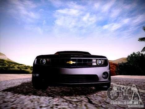 Chevrolet Camaro SS para GTA San Andreas vista traseira