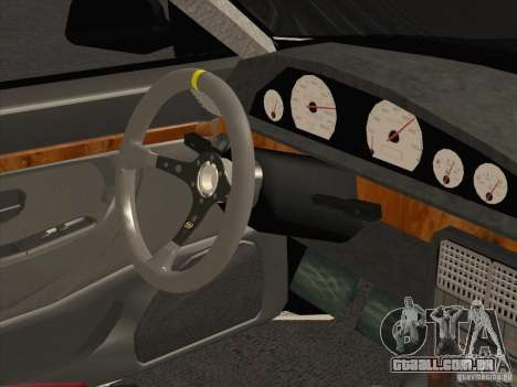 Audi 100 para GTA San Andreas vista traseira