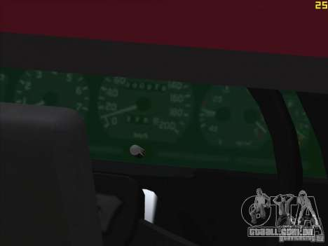 Gazela 33021 para GTA San Andreas vista interior