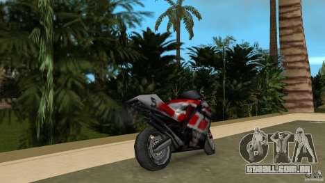 Yamaha YZR 500 para GTA Vice City vista traseira esquerda