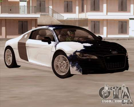 Audi R8 Production para GTA San Andreas vista superior