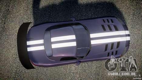 Dodge Viper RT 10 Need for Speed:Shift Tuning para GTA 4 vista direita