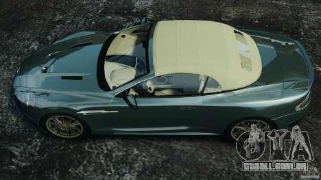 Aston Martin DBS Volante [Final] para GTA 4 vista direita
