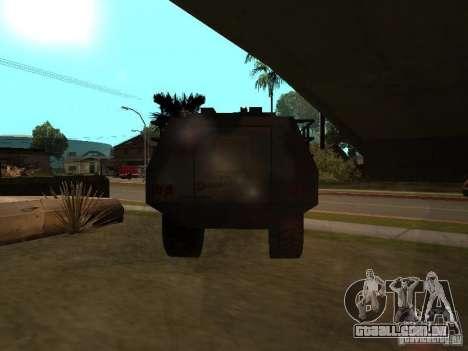 S. w. r. T de Counter Strike Source para GTA San Andreas vista direita