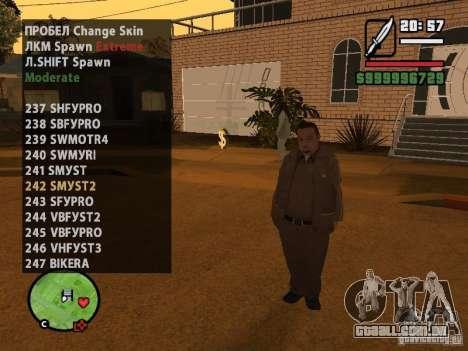 GTA IV peds to SA pack 100 peds para GTA San Andreas twelth tela