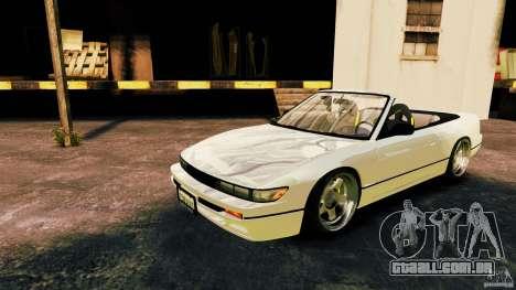 Nissan Silvia S13 Cabrio para GTA 4 esquerda vista