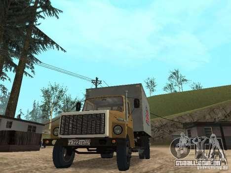 GAZ 3309 CR v2 para GTA San Andreas vista direita