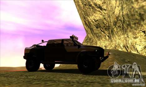 Dodge Ram All Terrain Carryer para GTA San Andreas vista direita