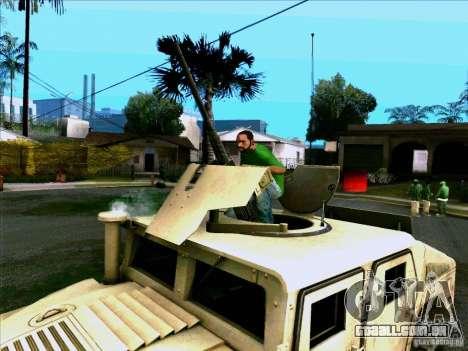 Hummer H1 Irak para GTA San Andreas vista direita