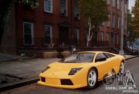 Lamborghini Murcielago para GTA 4 esquerda vista