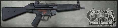 MP5A4 para GTA San Andreas