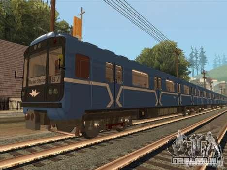 Tubo tipo 81-717 para GTA San Andreas