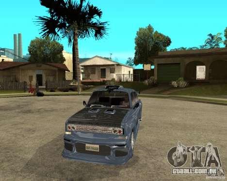 AZLK 2140 SX-sintonizado para GTA San Andreas vista traseira